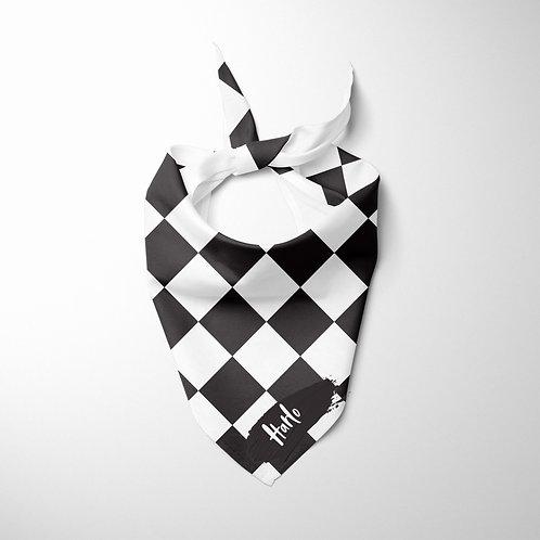 Personalized Pet bandana - Checkered