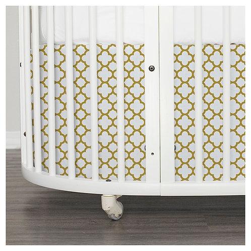 Stokke Sleepi skirt - bunnies & gold