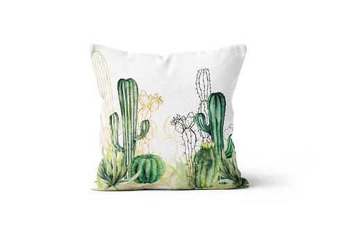 Throw Pillow - Cacti Llama