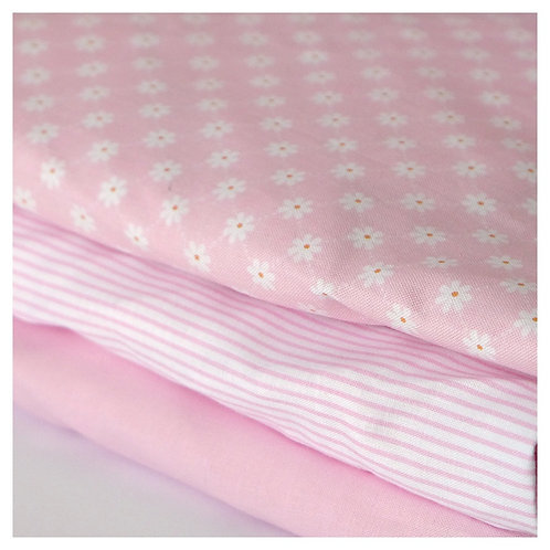 change pad cover - pink