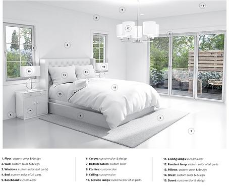 Complete Concierge Design - Custom Duvet Cover & Sheet Set