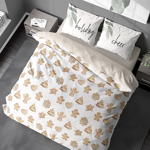 Personalized duvet cover - Gingerbread cookies