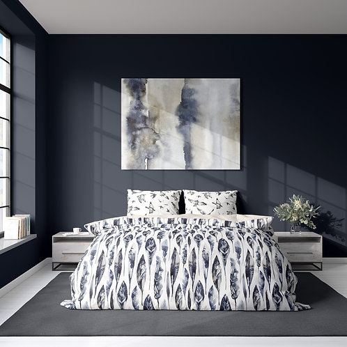 Duvet cover - Iceland feather pattern