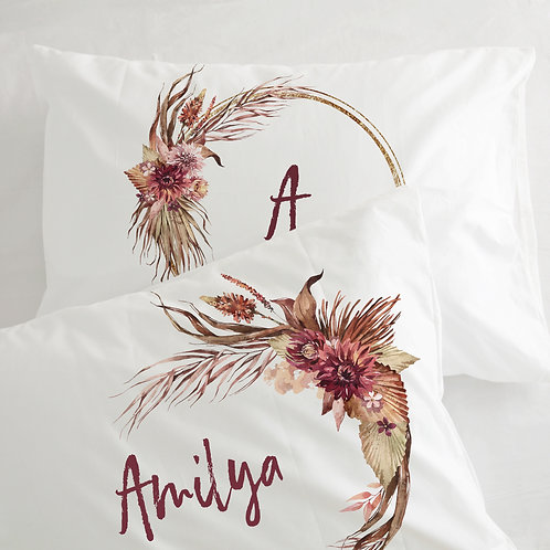 Flanged pillowcase - Out of Africa
