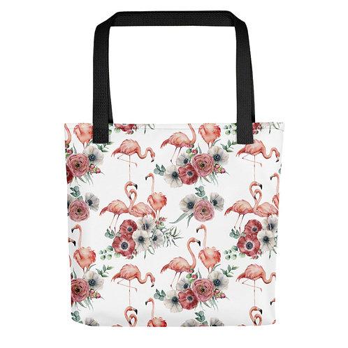 Tote Bag - Tropical Flamingo