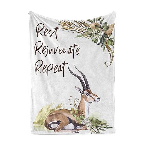 Personalized light blanket - Gazelle