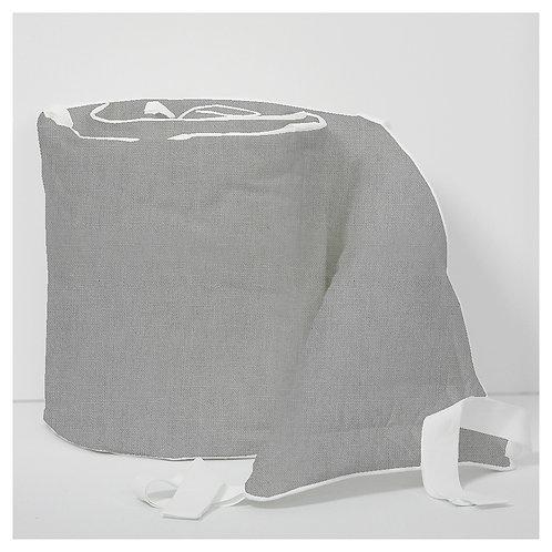 Oval bumper - linen