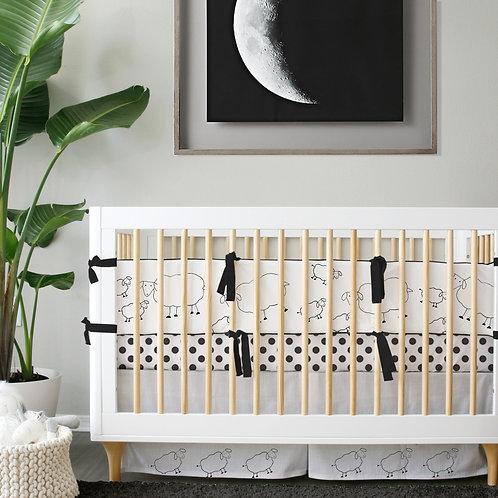Crib 3pc set - mommy & me