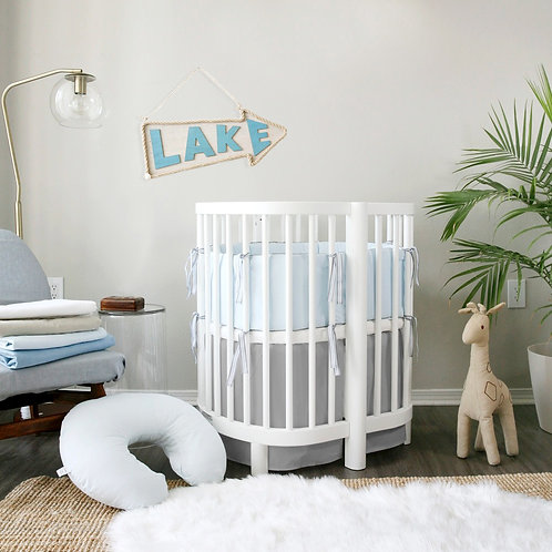 Stokke sleepi 3pc set - luxe french linen