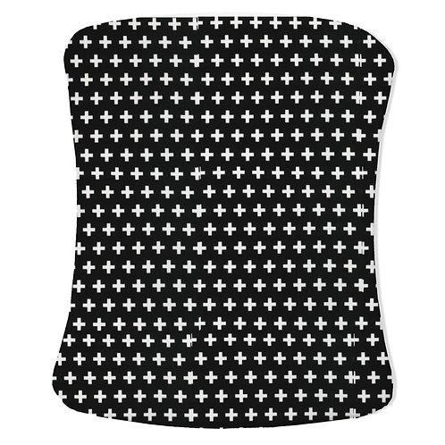 Stokke care change pad cover - black & white