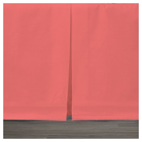 bed skirt - red