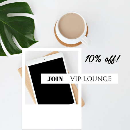 Holiday Planning Tip #2: Join VIP lounge