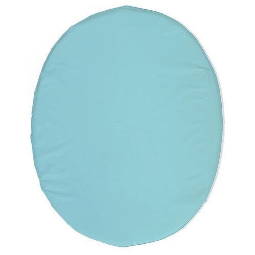 Stokke mini fitted sheet - aqua
