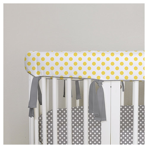 Stokke sleepi rail guard - gray & yellow