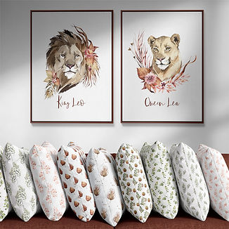 Row of Pillows Art OOA.jpg