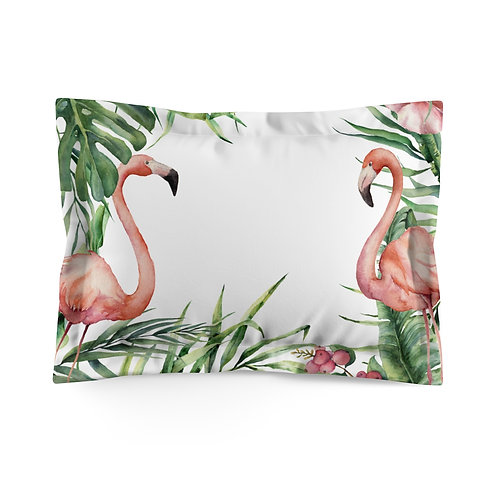 Flanged pillowcase - Tropicana Flamingo