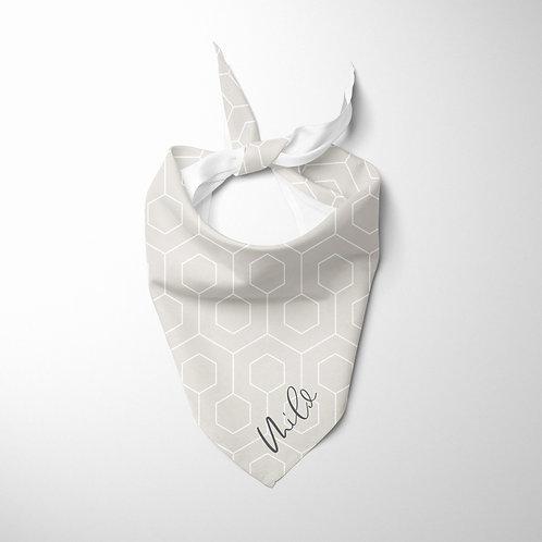 Personalized Pet bandana - Geometric