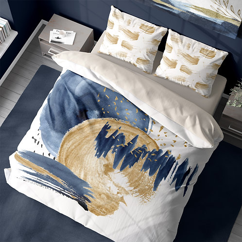Personalized duvet cover - Neptune abstracts