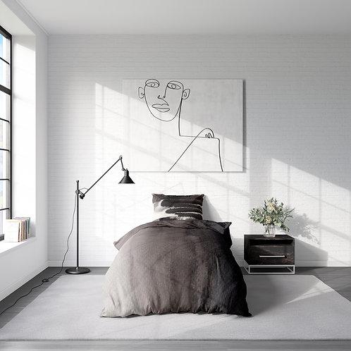 Personalized duvet cover - fine art ombre