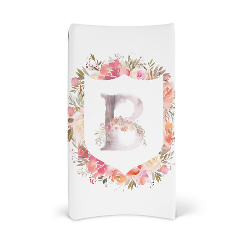 Personalized Changing Pad - Enchanted crest