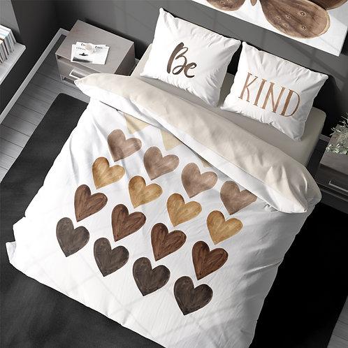 Personalized duvet cover - BLM hearts