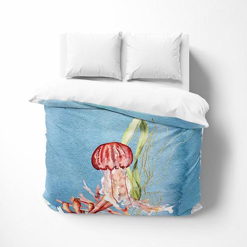 Personalized comforter - Ocean Jellyfish