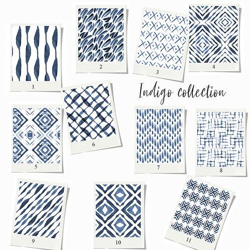 Indigo - Fabric sample