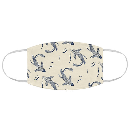 Fitted Face Mask - Koi