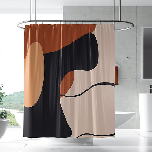 Shower Curtain - Modern Abstract 3