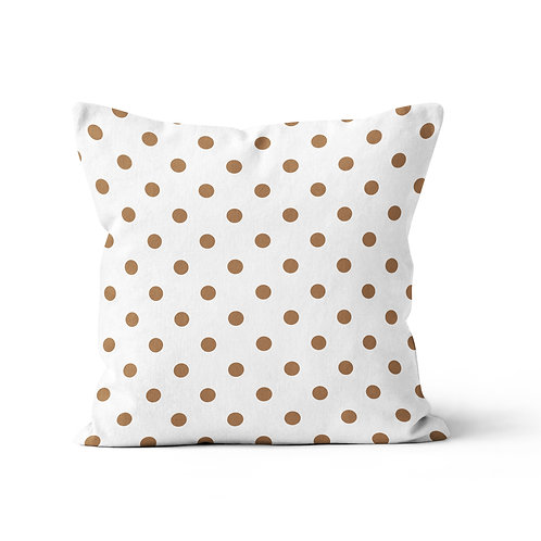 Throw Pillow - Polka dots pattern