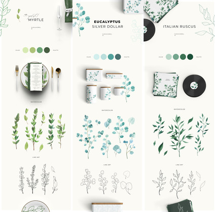 greenery III collection