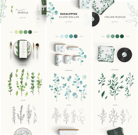 greenery III collection