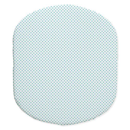 Hula bassinet fitted sheet - aqua
