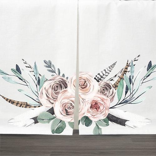 DYO - Custom bed skirt - Boho