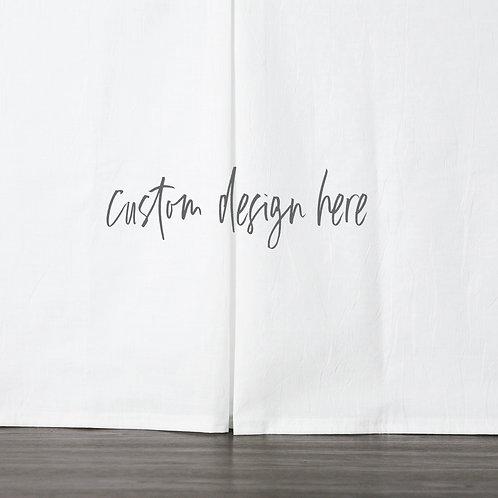 DYO - Custom bed skirt - enchanted