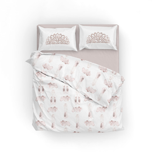 Queen duvet-RB slippers