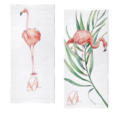 Towel - Tropical flamingo