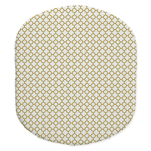 Hula bassinet fitted sheet - gold