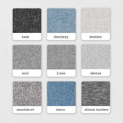 Personalized crib fitted sheet - Textures