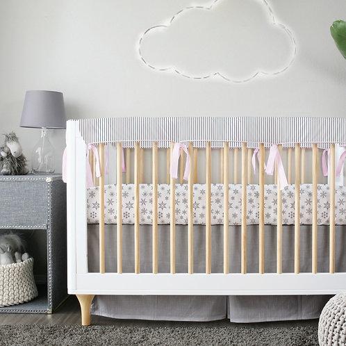 Crib 3pc set - silver