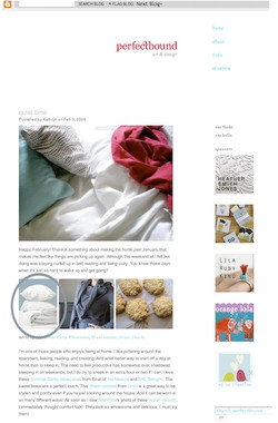 Perfect Bound blog