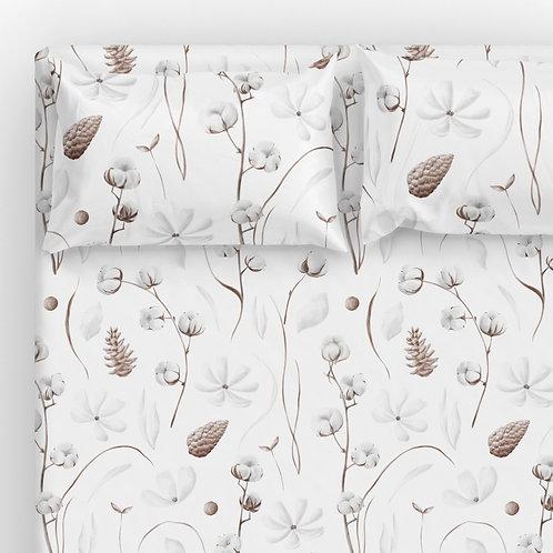 Italian cotton Sheet Set - Botanical cotton