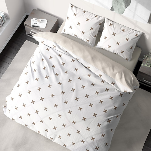 Duvet cover - X pattern