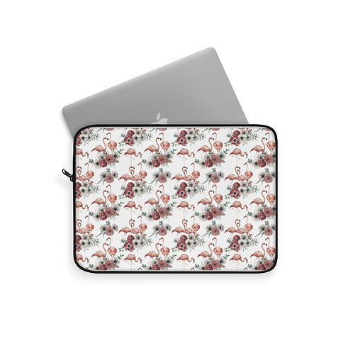 Laptop Sleeve - Flamingo poppy