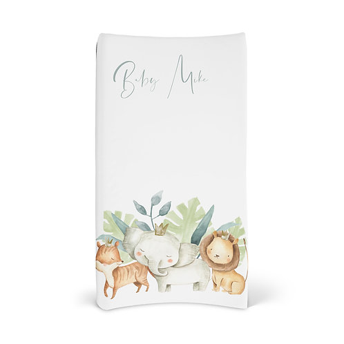 Personalized Changing Pad - Safari friends