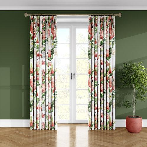 Everyday Curtains - flamingo