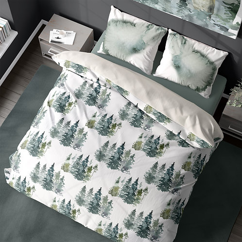 Personalized duvet cover - Enchanted forest 2