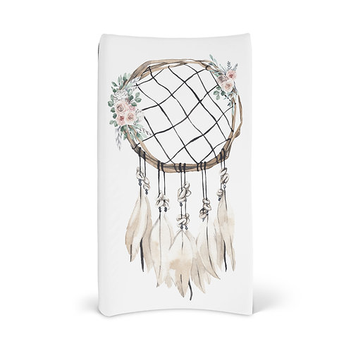 Personalized Changing Pad - Boho Dream Catcher