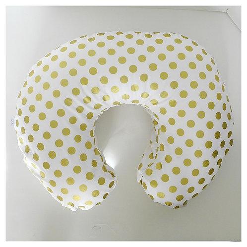 Nursing Pillow Cover - Gold
