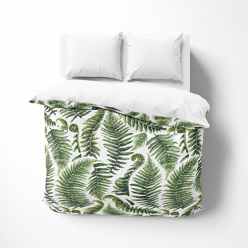 Personalized comforter - Giant Fern